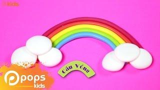 Đất Sét Biến Hình - Cầu Vồng | Play Doh - Little Rainbow [Official]