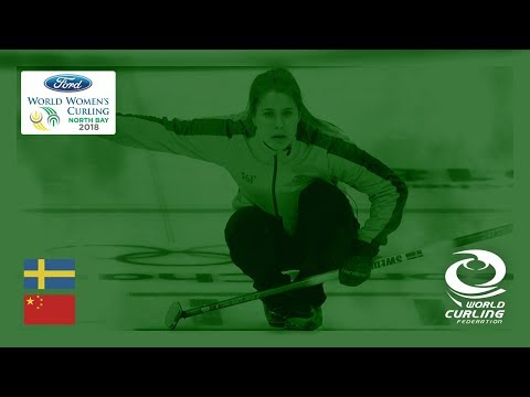 Sweden v China - Round-robin - Ford World Women's Curling Championships 2018