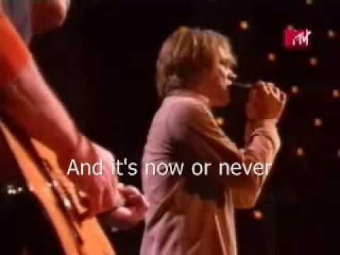 Bon Jovi - It's my Life Acoustic Version & Lyrics