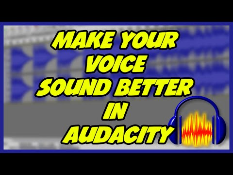 How To Make Your Voice Sound Better In Audacity! (For Gameplay Commentaries)