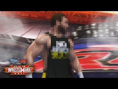 WWE Smackdown vs Raw 2011 - MAX HAS ARRIVED!! VS UNDERTAKER!! (Road To WrestleMania Ep 1)