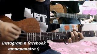 Tujhe Kitna Chahne Lage - Arijit Singh - Kabir Singh - Hindi Guitar Cover Lesson Chords Easy