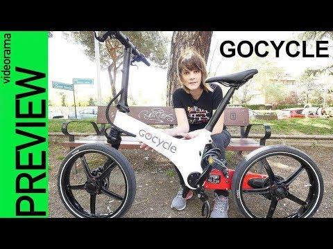 GoCycle preview -¿la bici urbana del FUTURO?-