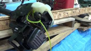 rebuilding a weed trimmer carb fuel line replacement