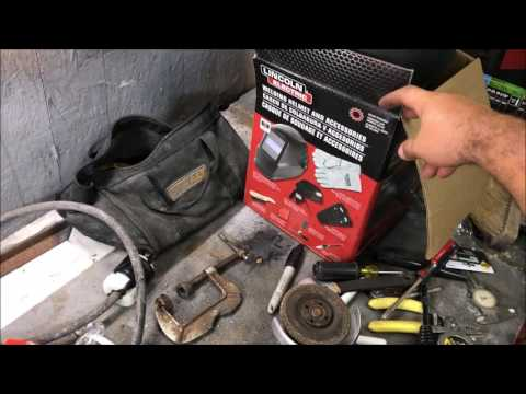 Hobby STICK Welding For Beginners With LINCOLN AC-225 Welder