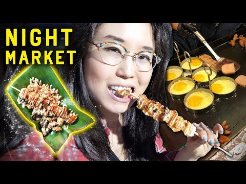 STREET FOOD IN SEOUL ♦ Korean Night Market on Yeouido Island
