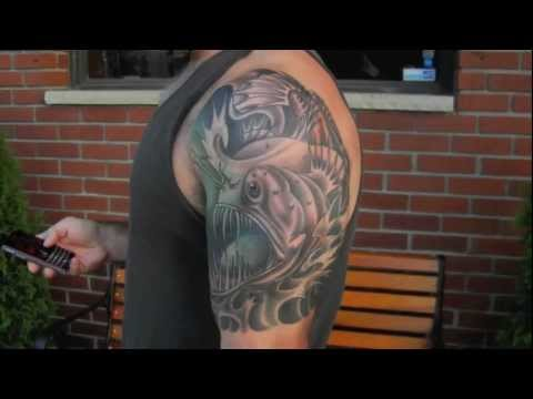 Angler Fish Tattoo