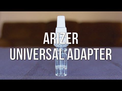Arizer Universal Adapter – Product Demo | GWNVC's Vaporizer Reviews
