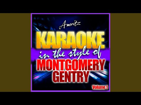 Lucky Man (In the Style of Montgomery Gentry) (Karaoke Version)