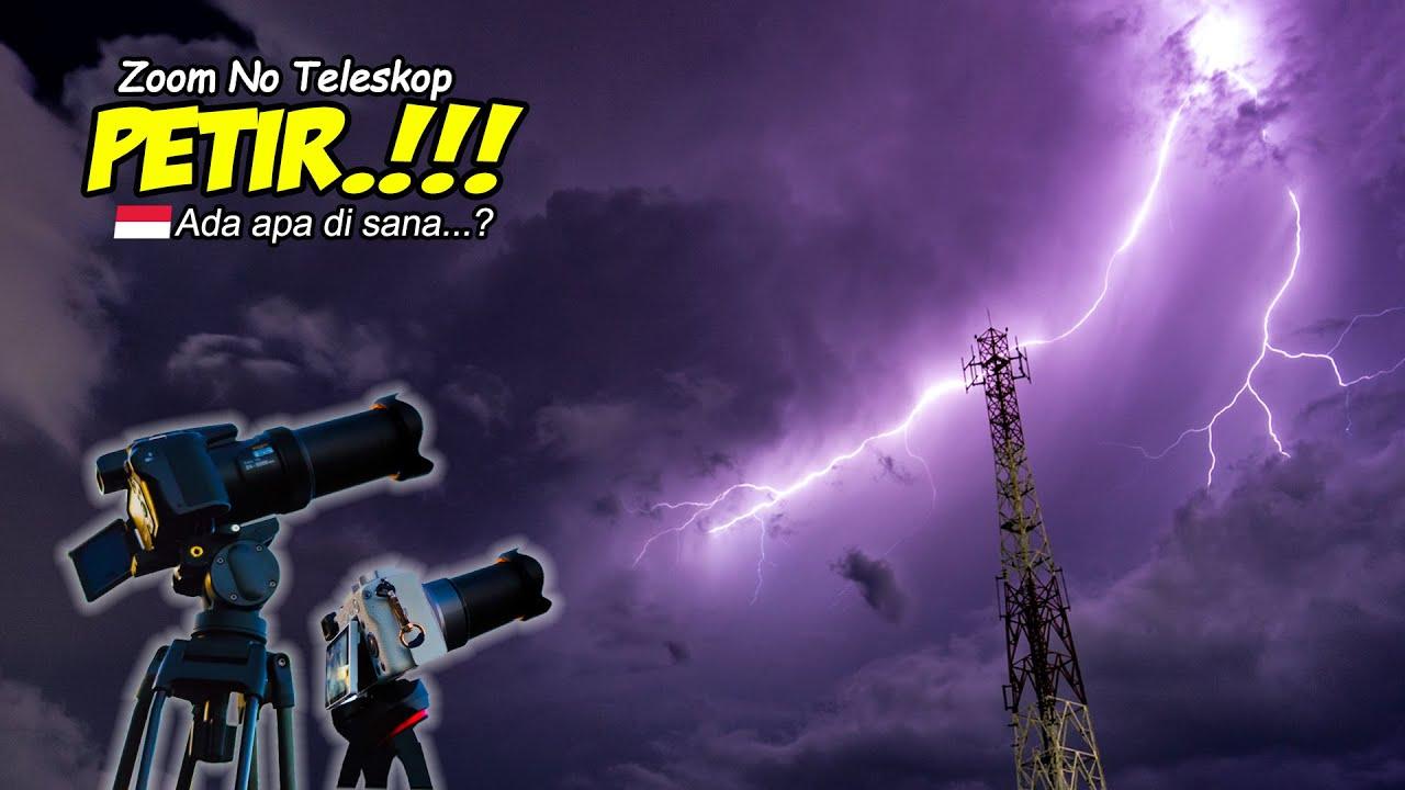 ZOOM PETIR HALILINTAR KILAT GLEDEK LIGHTNING | Nikon P1000