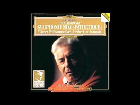 """Tchaikovsky - Symphony No.6 Op.74 """"Pathetique"""" Karajan  Vienna Philharmonic"""