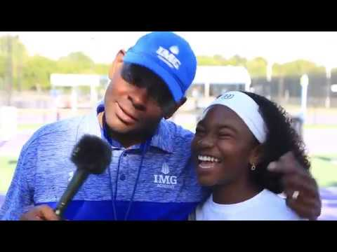 IMG ACADEMY TENNIS CAMP 2017 - Chelsea Fontenel