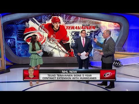 NHL Now:  Talking Teravainen:  Discussing Teravainen`s extension with Hurricanes  Jan 21,  2019
