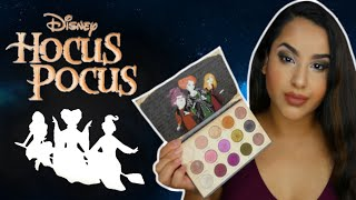 Colourpop Hocus Pocus Collection | Gather Round Sisters Palette Swatches & Review