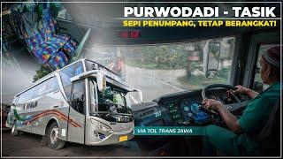 Mencoba Trayek Baru Bus Budiman Purwodadi Tasikmalaya