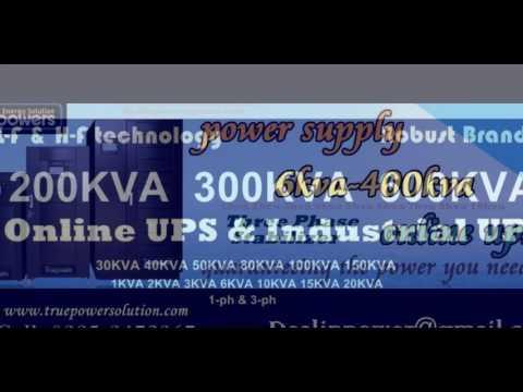 UPS 8KVA 6KVA 5KVA 3KVA 2KVA 1KVA Pure Sine wave Short & Longer Backup Time