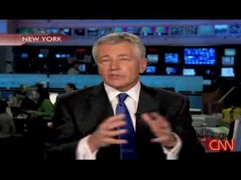 Senator Chuck Hagel Interviewed On CNN - Discusses Iraq