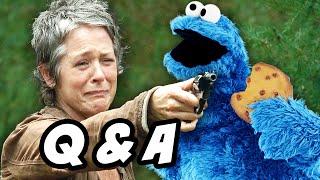Walking Dead Season 5 Episode 13 Q&A - 600K THANK YOU