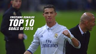 cristiano ronaldo top 10 goals 2016 english commentary