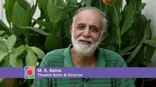 M K Raina - importance of Saving the Pink Spot and joining the campaign 'Fight4theFoetus'. Video
