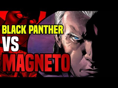 Black Panther vs Magneto, Sabretooth and Apocalypse