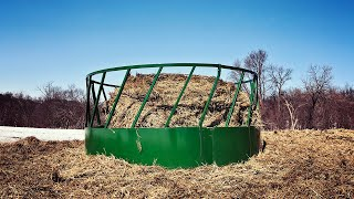 Round Bale Feeder Assembly