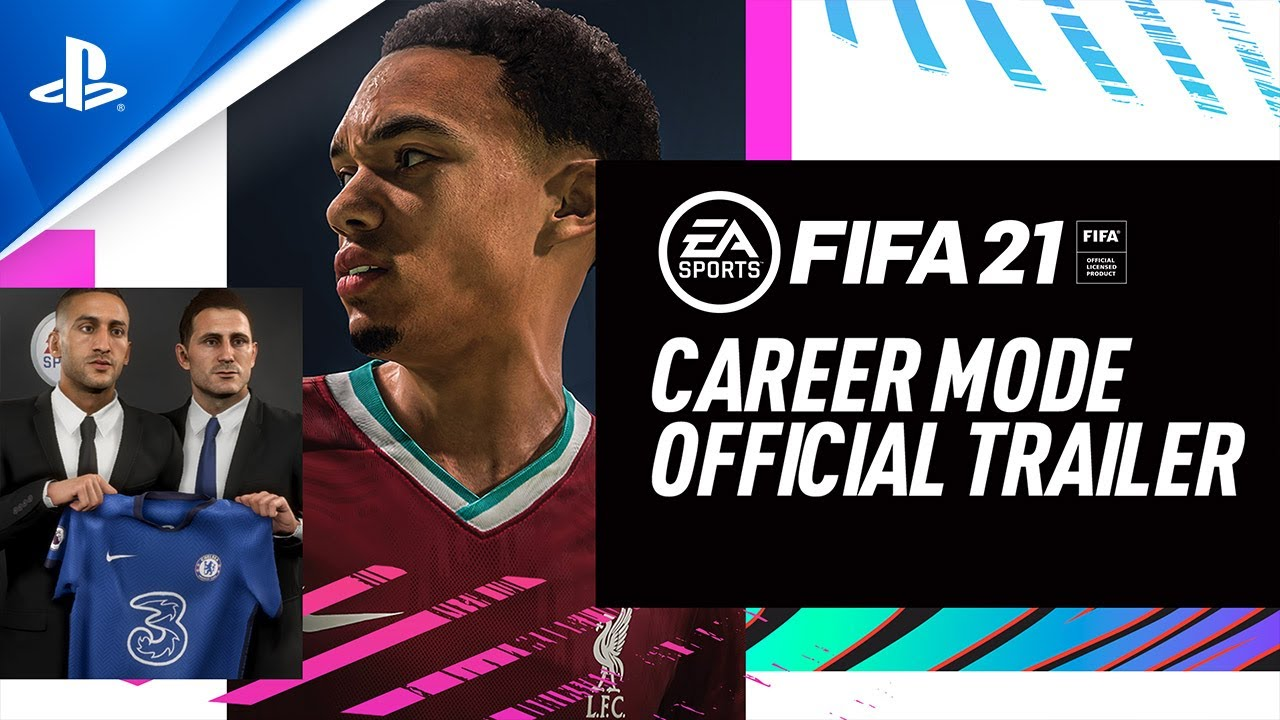 FIFA 21   Official Career Mode Trailer   PS4