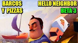 NUEVOS SECRETOS: BOSS, PIZZA, OSO, NUEVA SEMILLA - HELLO NEIGHBOR BETA 3 | Gameplay Español