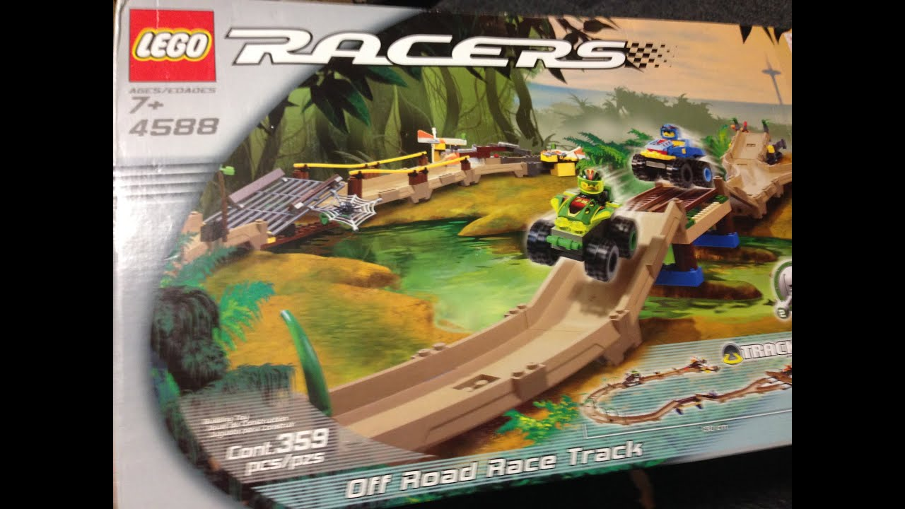 Lego Car Race Track Game