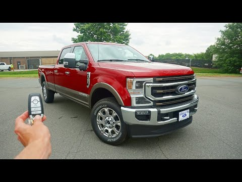 Is The 2020 Ford F350 Super Duty King Ranch Worth $85,000?
