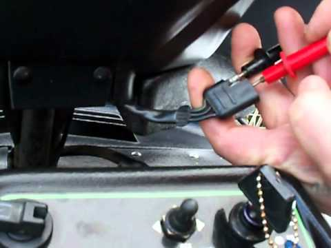 Watch on testing a throttle position sensor