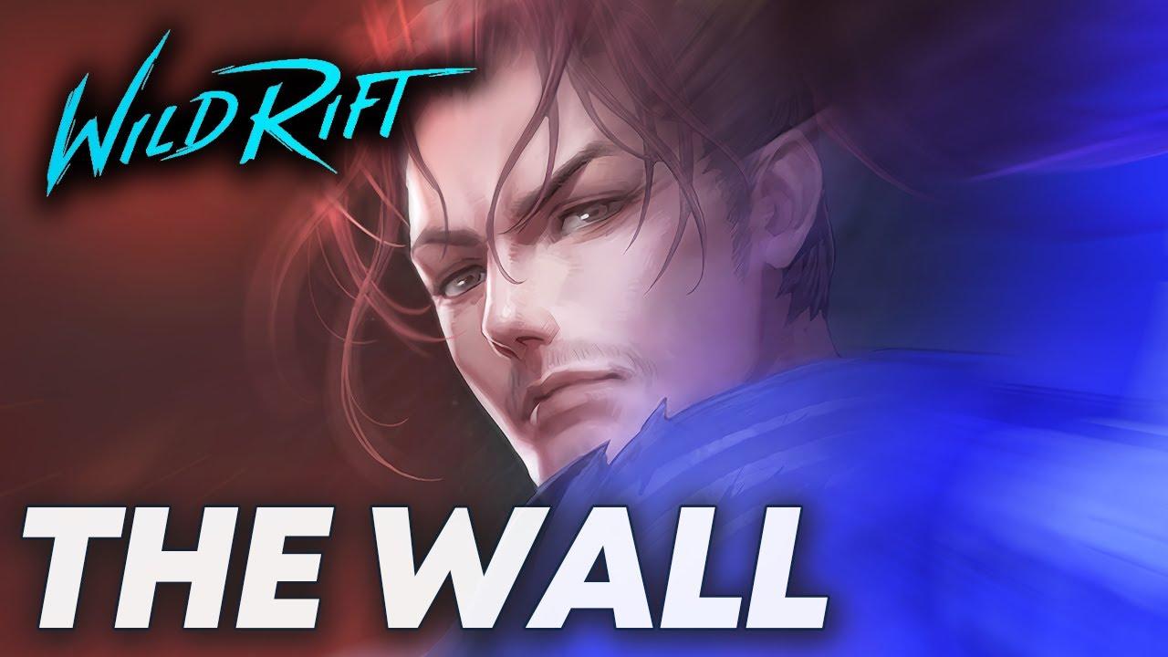 yasuo dashing through the wall — Wild Rift