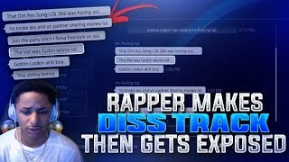 TRASH TALKING RAPPER MAKES DISSTRACK ABOUT MY SONG! THEN I ROAST & DROP HIM OFF NBA 2K17