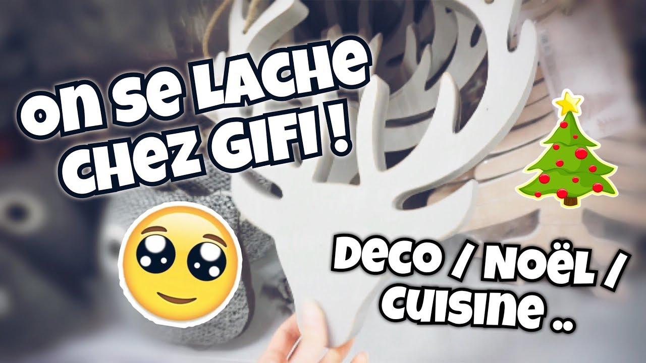 Craquage Chez Gifi Deco Noël Cuisine Youtube