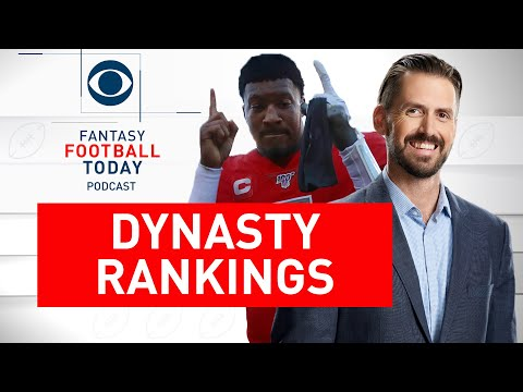 New DYNASTY RANKINGS: Post-Draft RISERS And FALLERS | Fantasy Football Today