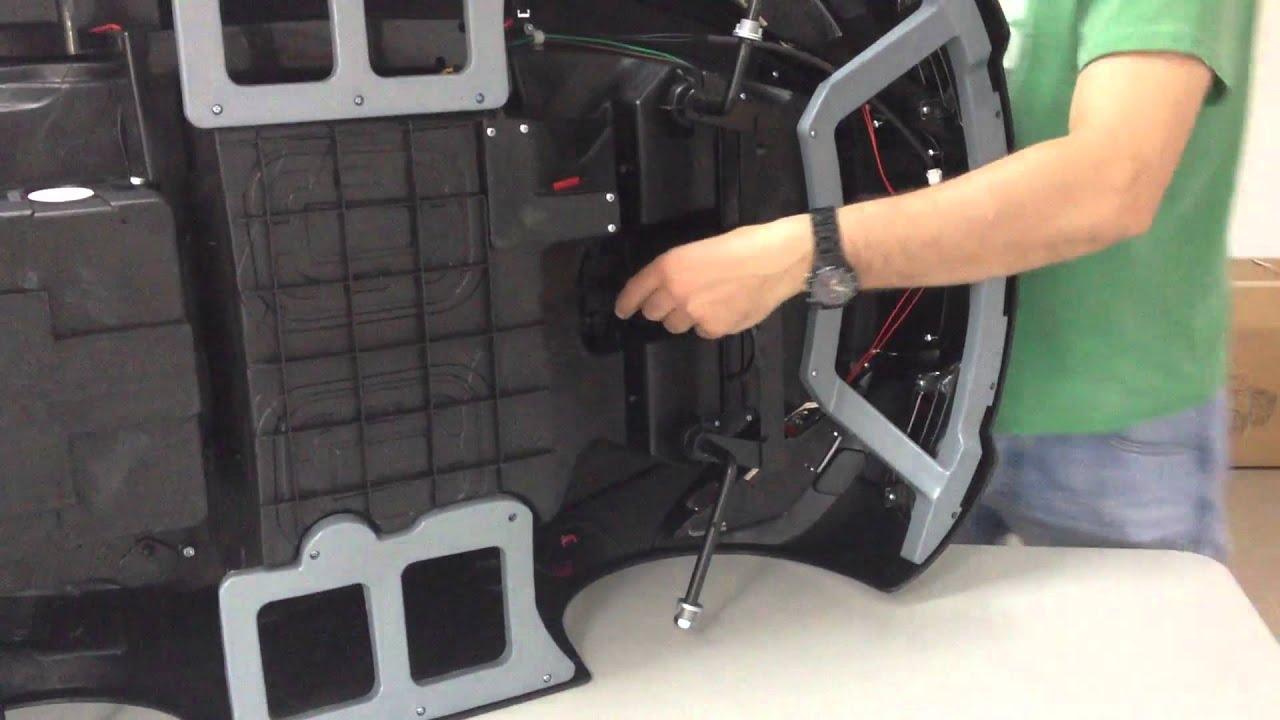 Montaje Coche Electrico 12v Con Control Remoto Para Ni 241 Os