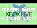 How To Get Xbox Live Gold Free 2017