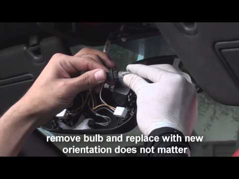 replace map light dome light mustang 2010- 2014