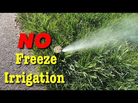 How To Blow Out Irrigation Sprinklers
