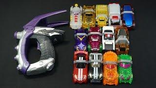 仮面ライダードライブ 変身拳銃 DXブレイクガンナー 全シフトカー Kamen Rider Drive Henshinkenjyu DX BlakeGunner All shift car thumbnail