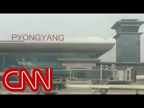 Exclusive look inside North Korea's new airport