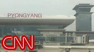 Exclusive look inside North Koreas new airport