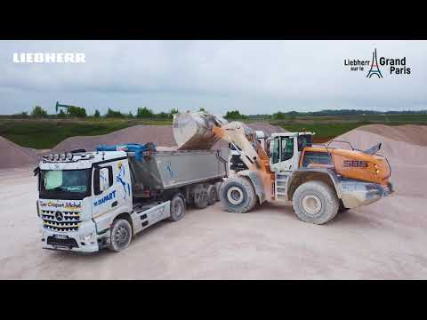 Liebherr - Grand Paris : A2C Granulat and the construction site of the century