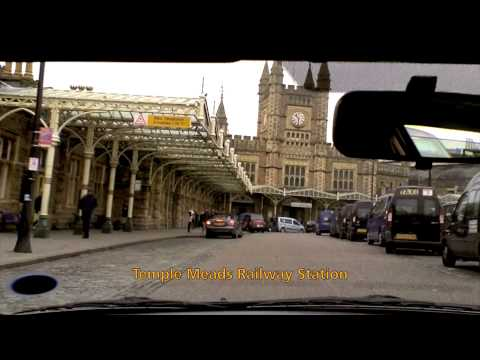 Driving to Temple Meads station and some bridges