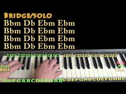 One Dance (Drake) Piano Lesson Chord Chart
