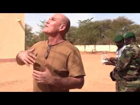 Chengeta advanced drone training in Mali