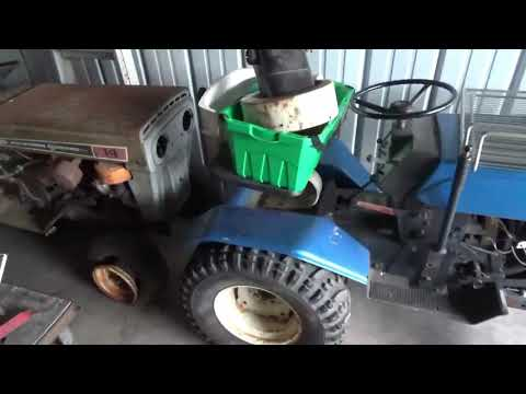 Tractor, wisconsin pump rig, and car update 7/13/2019