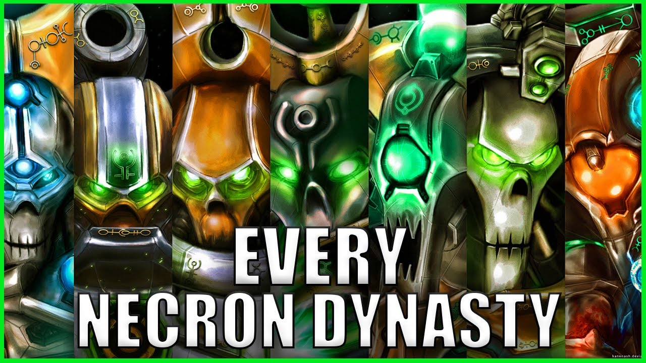 Every Single Necron Dynasty EXPLAINED By An Australian | Warhammer 40k Lore