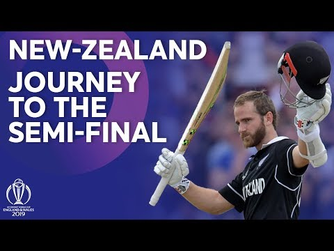 New Zealand – Journey To The Semi-Finals | ICC Cricket World Cup 2019