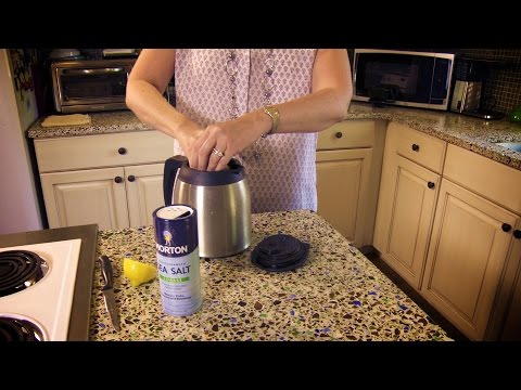 How to Clean a Stained Coffee Pot (without vinegar) | Don't Look Under The Rug® with Amy Bates